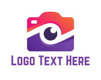 Focus - Camera Lens logo design