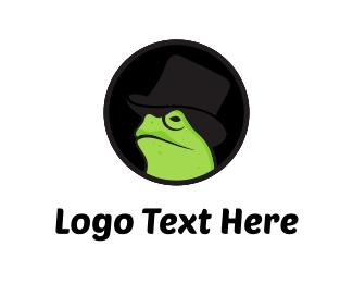 Gentleman - Mister Frog logo design