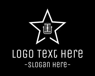 Voice - Singing Star logo design