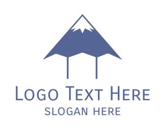 Blogger - Blue Mountain Pen logo design