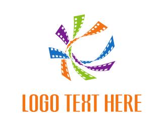 Productions - Film Clips logo design