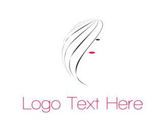 Women - Pretty Girl logo design