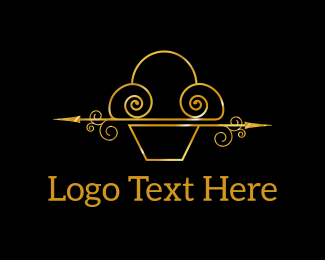 Decorative - Luxury Cupcakes logo design