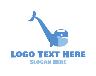 Tobacco - Pipe Whale logo design