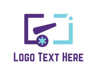 Programing - Purple Cannon  logo design