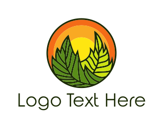 Sustainability - Organic Sun logo design