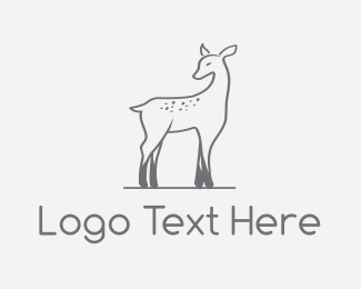 Luxury - Deer Fawn logo design