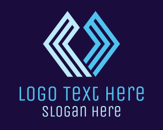 Hexagonal - Hexagonal U logo design