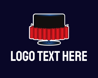 Station - Dynamite Tube logo design