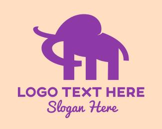 Powerful - Black Mammoth logo design