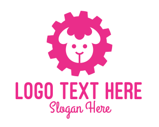 Alpaca - Industrial Sheep  logo design