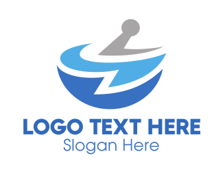 Drug - Blue Pharmacy logo design