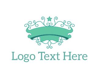 Ornamental - Mint Emblem logo design