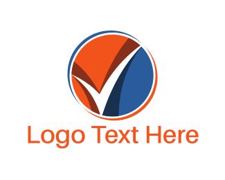 Tick - Check Circle logo design