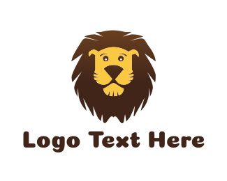 Birthday - Cute Lion logo design