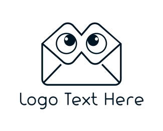 Envelope - Envelope Eyes logo design