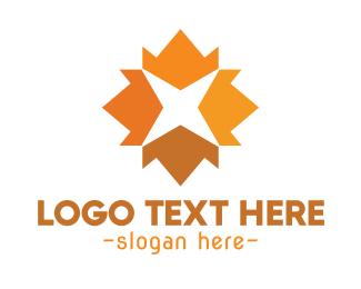 Fall - Autumn Star logo design