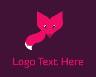 Tail - Fox Face logo design