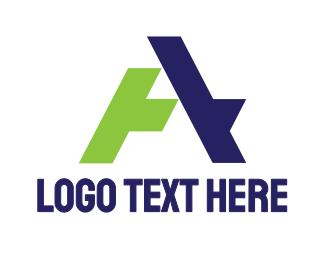 Shape - Modern A Shape logo design