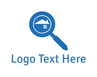 Search Engine - House Finder logo design