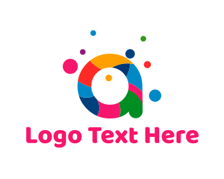 Colorful - Colorful Letter A logo design