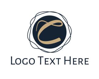 Crooked - Crooked Circle C logo design