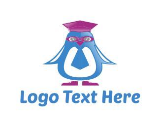 Graduation - Penguin Graduation logo design