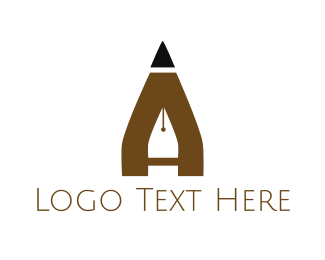 Pen - Pen & Pencil logo design