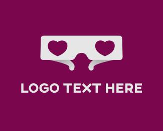 Glasses - 3D Glasses logo design