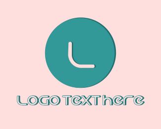 Photography - Minimalist Lettermark Circle logo design