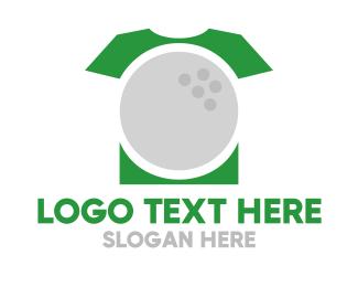 T-shirt - Golf Uniform logo design