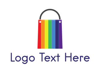 Deal - Rainbow Bag logo design