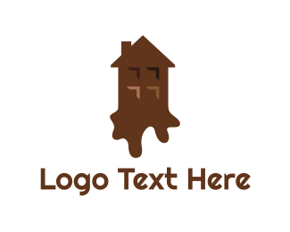Brownie - Chocolate House logo design