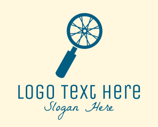 Wheel - Search Wheel  logo design