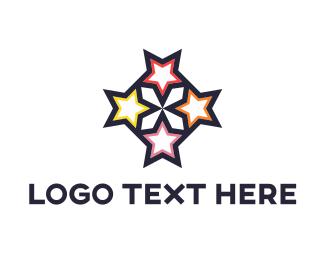 Hollywood - Four Stars logo design
