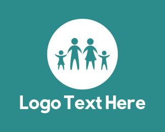 Beautiful - Family Circle logo design