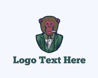 Cool - Fashion Monkey logo design
