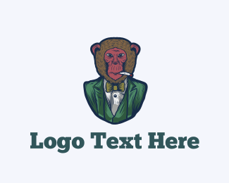 Monkey - Fashion Monkey logo design