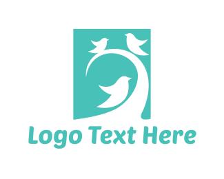 Friend - Bird Trio logo design