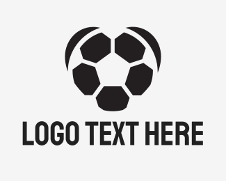 Football - Football Lovers logo design