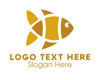 Yellow - Yellow Fish logo design