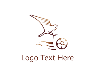 Football - Eagle Football Club logo design