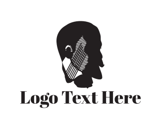 Gentleman - Gentleman Face logo design