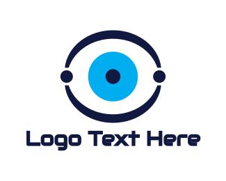 Optical - Technical Eye logo design