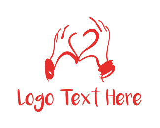 Compassion - Love Sign logo design