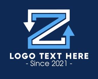 Symbol - Z Arrows logo design