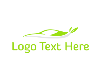 Vehicle - Eco Car logo design