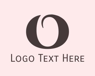 """Round Elegant Letter O"" by BrandCrowd"