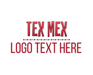 Taco - Red Gradient Wordmark logo design