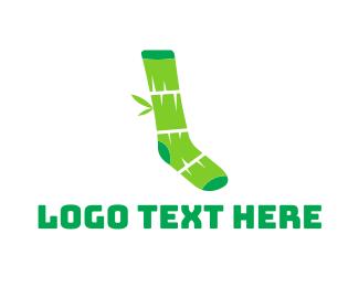 Apparel - Bamboo Socks logo design